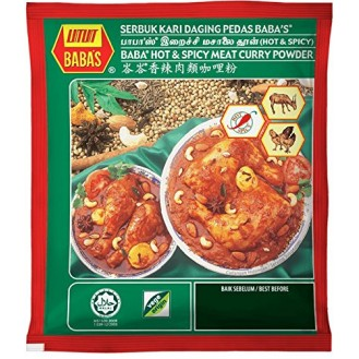 Baba's Hot & Spicy Meat Curry Powder