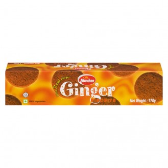 Ginger Biscuits with real ginger