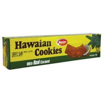 Hawaian Cookies with Real Coconut